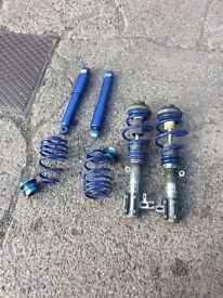 Astra h coil overs full lowering kit
