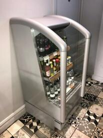 Open drinks cooler drinks fridge for shop/cafe good working condition / north London collection