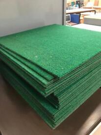 Green Carpet Tiles