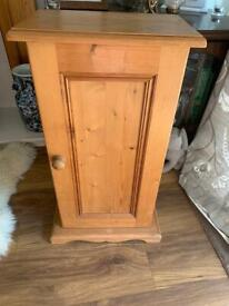 Solid Pine Cd Cabinet