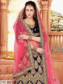 new bridal wear lehenga with dupta And blouse