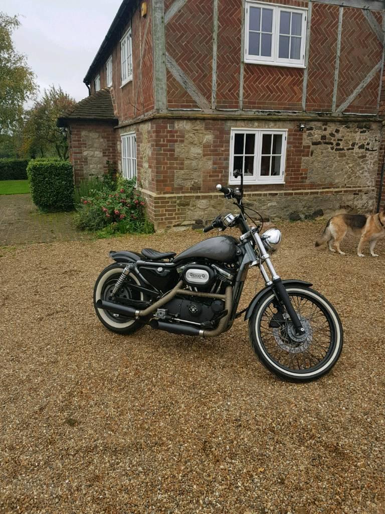 Harley Davidson 1200xl custome sport