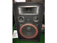 Karaoke disco speakers