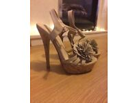 High heeled stiletto shoes size 2