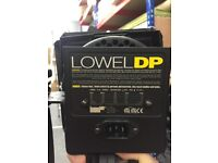 Professional Photographic Lighting Equipment (LOWEL DP) & Portaflash stand. Pelican cases available