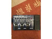 Boss ME-50 bass guitar effects pedal