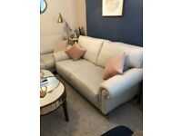 Gorgeous and perfect condition Laura Ashley large 2 seater Kingston sofa in Dove Grey