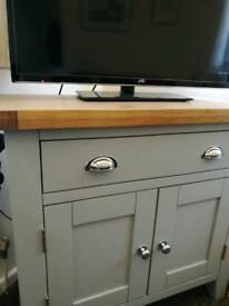 Light grey sideboard