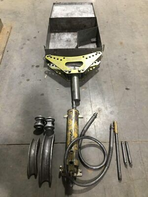 Greenlee 880-m2 1-12 Hydraulic Pipe Bender W Enerpac Hydraulic Pump 10000psi