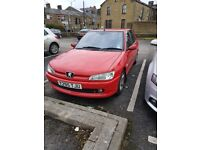 Peugeot 306 hdi diesel very good condition geniuine bargain. Mot valid and taxed