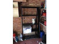 Garage shelving -120kg per shelf x 2