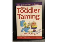 NEW TODDLE TAMING BOOK - DR CHRISTOPHER GREEN