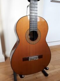 Classical Guitar + Hard Case: Admira Soledad; bought in 2006 for £670; N19 4SY
