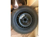 Jaguar x-type space saver spare wheel