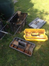 Tool box, cracked base