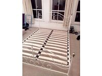 King Size Bed Frame (Cream)