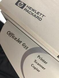 HP Officejet g55 All-in-One Printer series