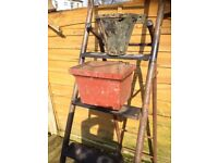 10 X Vintage Cast Iron Hoppers / Garden Planters £8 Each Different Designs- delivery or collection
