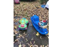 2 x outdoor garden toys / little tikes & playskool