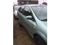 Car for sale Nissan almera tino