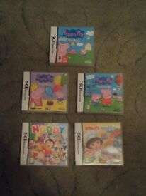 Selection of Childrens DS games