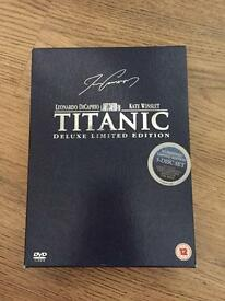 Titanic deluxe limited edition DVD box set