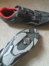 Shimano Offset Road Shoes - as new