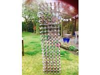 Wine rack- holds 100 bottles
