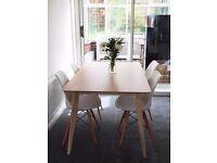 Dining table unused