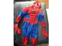 Spiderman costume (brand new for 3 year old)