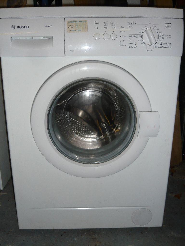 Bosch Washing Machine Maxx