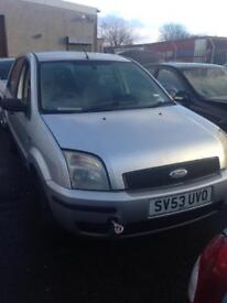 Ford fussion 1.4 diesel 2003 breaking for parts