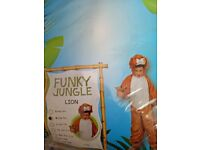 Funky jungle lion costume