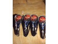 RRP £50 each! BNWT Dunlop tennis rackets .