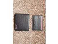 Hugo Boss Leather Wallet & Card Holder Gift Set