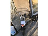 Pitbike rolling frame pit bike