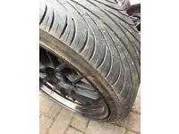 255/35ZR18 95W XL 18inch wheel and tyre