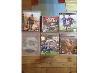 PS3 six games