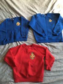 Girls Brigade jumpers
