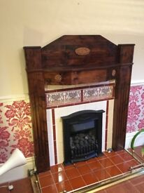 Fire surrounds, (with free gas fires if required).