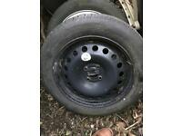 Spare wheel for Renault scenic 205/55/16