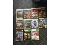 Xbox games joblot