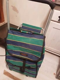 Shopping trolley and seat for sale