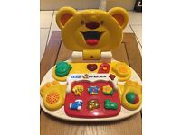 Vtech Teddy Bear Laptop
