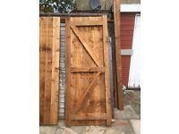 Wood Gardern gates