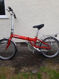 Dahon folding bike - SOLD
