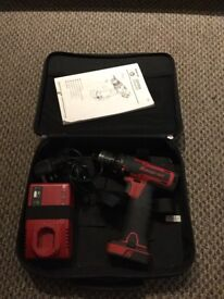 Snap on 14.4v battery drill micro lithium