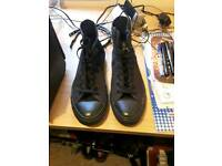 Converse Black Size 10