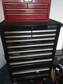 Britool 11 drawer roll cab