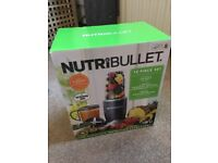 Brand new in box Nutribullet 600 12 piece set £35